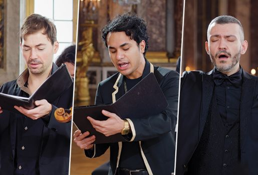The 3 countertenors and the castrati virtuosity competition