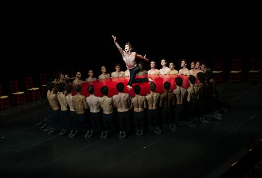 Béjart Ballet Lausanne: All men almost always imagine / Brel and Barbara / Bolero