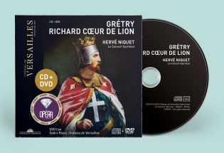 n°28 | cd + dvd - grétry - richard cœur de lion