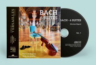 double cd - bach 6 suites