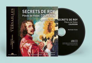 n°35 | cd - couperin - secrets de roy - pièces de violes | pré-sales