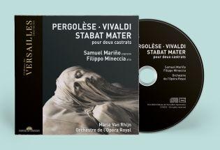 n°33 | cd - pergolèse - vivaldi | stabat mater pour deux castrats