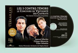 cd + dvd - the 3 countertenors - exclusive pre-sale