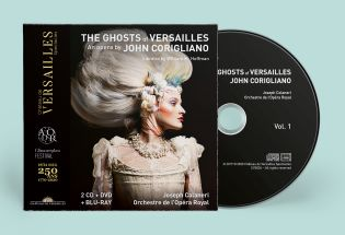 n°36  |  2cd+dvd+blu-ray - the ghosts of versailles