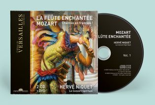 n°30 | cd + dvd - the magic flute - presales